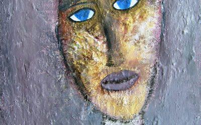 L'homme bleu