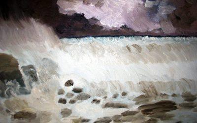Barrière rocheuse
